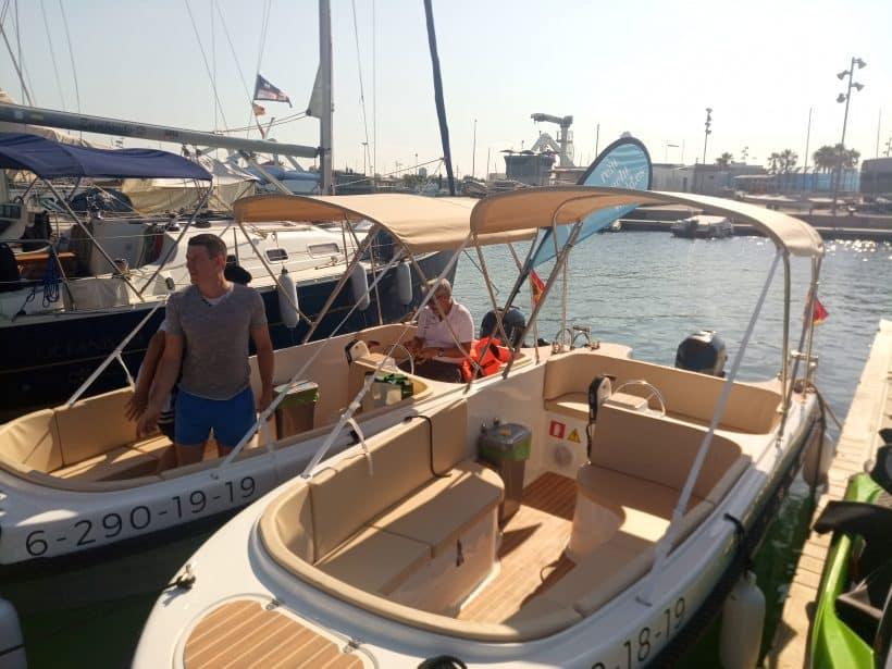 alquiler barcos sin licencia valencia